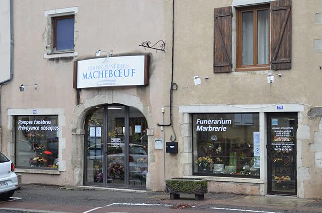 Pompes funèbres Macheboeuf à Aigueperse - Puy-de-Dôme (63)